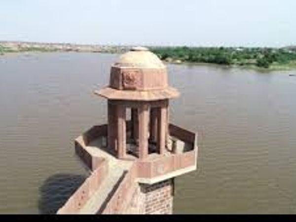 कायलानाझील में आया पानी। - Dainik Bhaskar