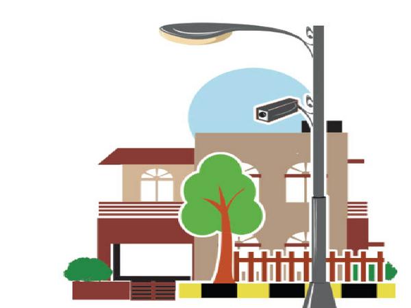 स्मार्ट सिटी की ओर से आईसीसीसी योजना के तहत 4000 कैमरे लगाए जाएंगे। - Dainik Bhaskar