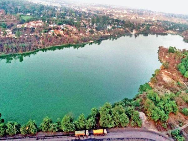 48 मीलियन क्यूबिक मीटर पानी का भंडार है। - Dainik Bhaskar