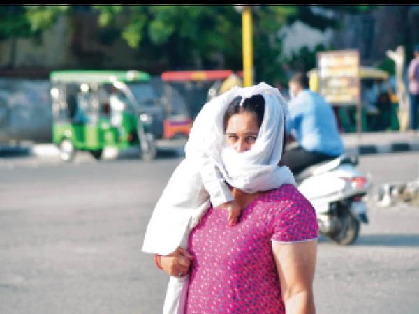 गर्मी से बुरा हाल हुआ। - Dainik Bhaskar