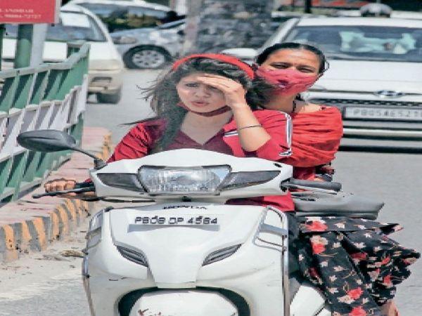 शहर में रविवार को मौसम गर्म रहा। अब 12 जून को बूंदाबांदी के आसार हैं। - Dainik Bhaskar