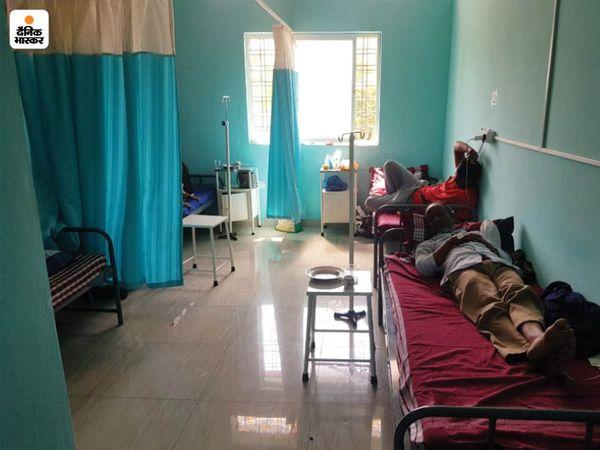 मरीजों के आराम के सभी इंतजाम हैं। किसी तरह का शुल्क भी नहीं लिया जा रहा।