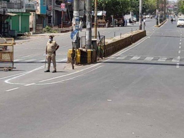 जिले में लगाकर कम होती एक्टिव केस की संख्या को देख स्वास्थ्य विभाग और प्रशासन ने राहत की सांस ली। - Dainik Bhaskar
