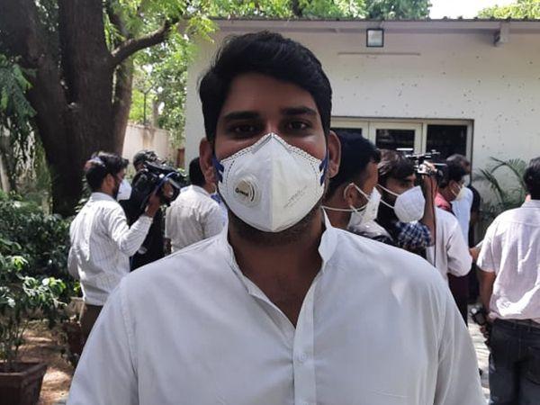 लाडनूं से विधायक मुकेश भाकर।