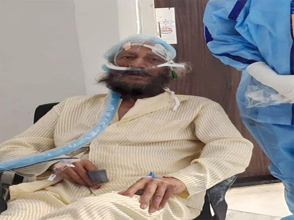 मिल्खा सिंह की पहले से हालत बेहतर। पीजीआई में चल रहा पिछले 10 दिनों से इलाज। फाइल फोटो - Dainik Bhaskar