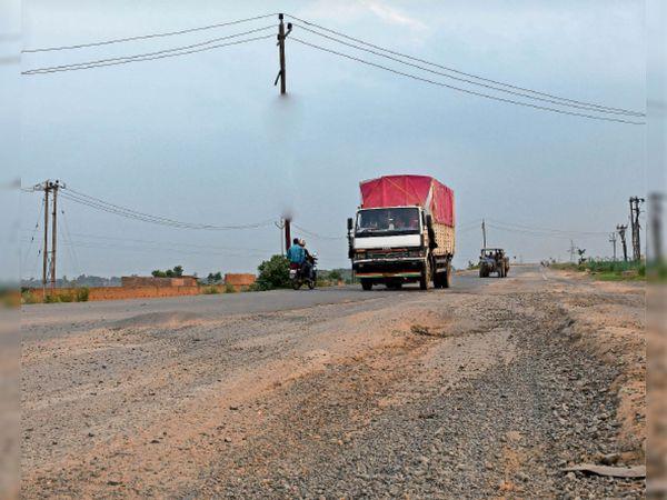 मेंटनेंस का प्रस्ताव विभाग से पथ परिवहन व राजमार्ग मंत्रालय काे भेजा, वहां अटकी फाइल - Dainik Bhaskar