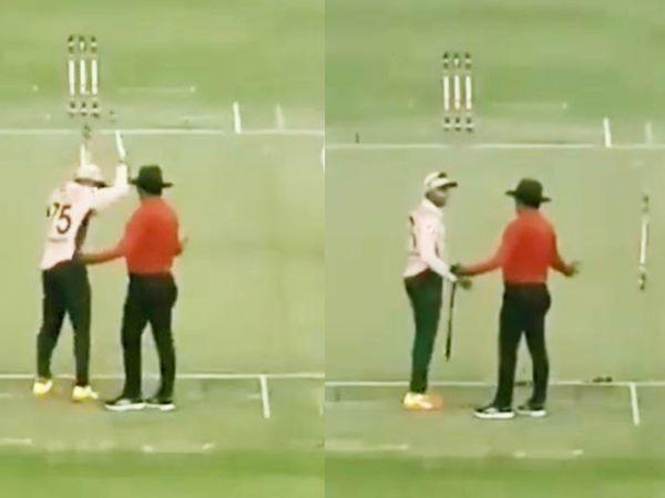 ढाका प्रीमियर लीग में मैच के दौरान शाकिब आपे से बाहर हो गए और उन्होंने अंपायर के साथ बदसलूकी की। - Dainik Bhaskar