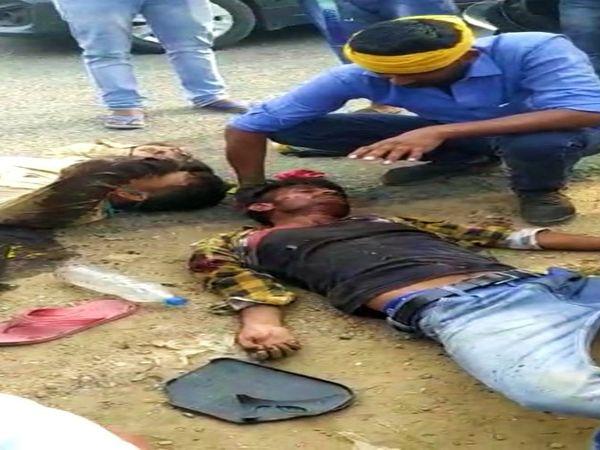 चौरीचौरा इलाके के दुबियारी में हुए हादसे में दो की मौत हो गई। - Dainik Bhaskar