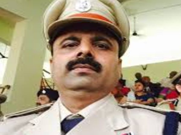 बिहार पुलिस एसोसिएशन के अध्यक्ष इंस्पेक्टर मृत्युंजय कुमार सिंह। - Dainik Bhaskar