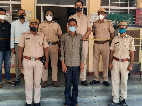हेमराज ने तांत्रिक क्रिया के शक में अपने पड़ोसी सीताराम के घर में घुसकर त्रिशूल से वार कर हत्या की थी - Dainik Bhaskar