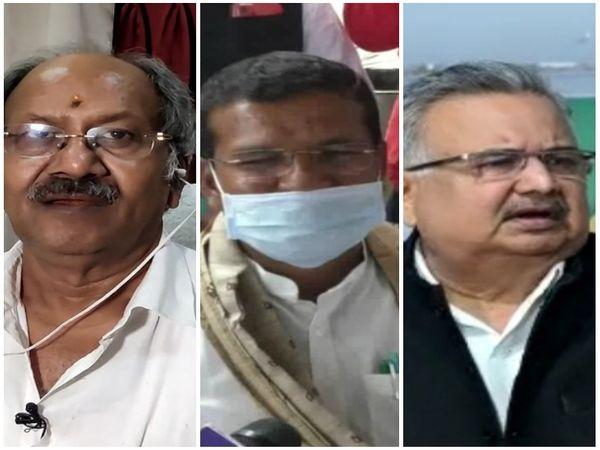 शुक्रवार को तीनों नेताओं ने इस मुद्दे पर सियासी बयान के तीर छोड़े, एक दूसरे पर विफल होने के आरोप भी लगाए। - Dainik Bhaskar