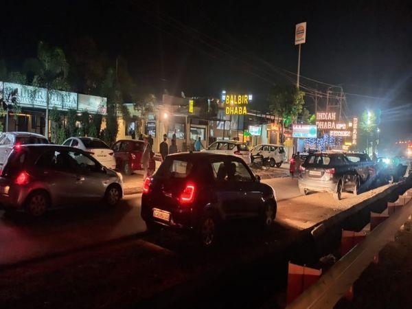 शाम 6 बजे तक प्रतिबंध के दौरान रायपुर में बहुत सी दुकानों ने नियम तोड़ा, अब वक्त बढ़ा दिया गया है लापरवाही भी बढ़ने की आशंका है। - Dainik Bhaskar