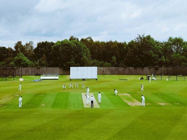 टीम इंडिया ने 11 जून से 4 दिवसीय प्रैक्टिस मैच शुरू कर दिया है। 2 टीम में बंटकर खिलाड़ी आपस में यह मैच खेल रहे हैं। - Dainik Bhaskar