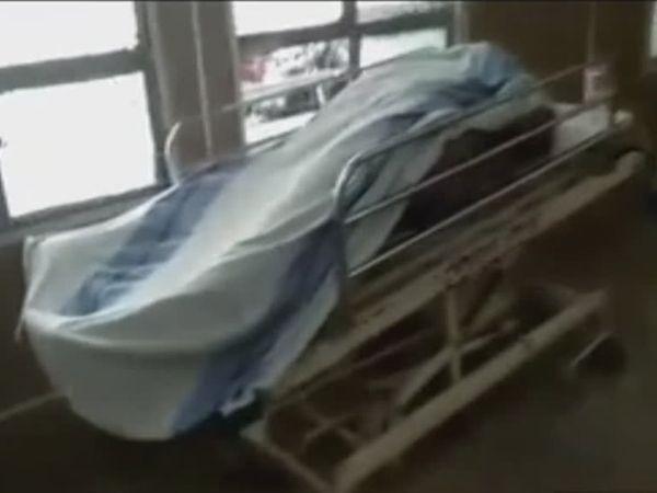 अस्पताल में शिव का शव। - Dainik Bhaskar