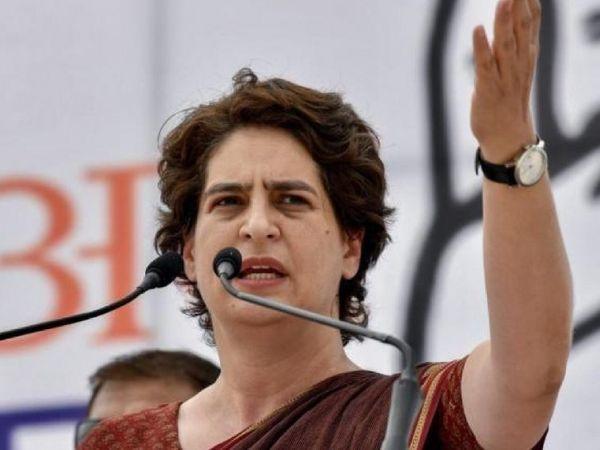 प्रियंका गांधी के लिए लखनऊ में ही कांग्रेस की एक सीनियर लीडर का आवास तैयार कर दिया गया है। (फाइल फोटो) - Dainik Bhaskar