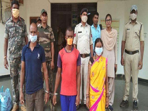 महिला की हत्या में शामिल परिवार के सभी आरोपी गिरफ्तार कर लिए गए। - Dainik Bhaskar