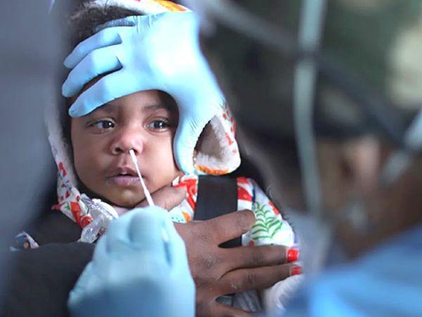 सर्वे के मुताबिक, एडल्ट के मुकाबले SARS-CoV-2 सिरोपाॅजिटिविटी रेट बच्चों में अधिक मिली है। - Dainik Bhaskar