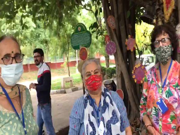एनजीओ सदस्यों ने कहा पेड़ों को बचाना जरुरी