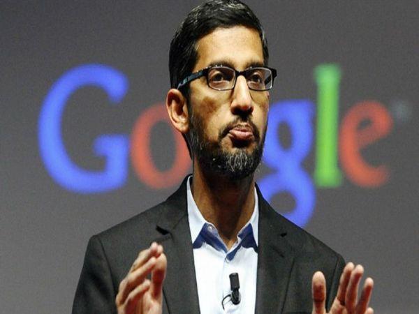गुगल के सीईओ, सुंदर पिचाई(फाइल फोटो) - Dainik Bhaskar