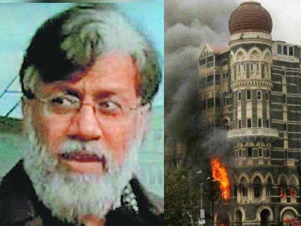 मुंबई हमले का आरोपी तहव्वुर राणा ( दाएं) फिलहाल अमेरिकी पुलिस की गिरफ्त में है। - Dainik Bhaskar