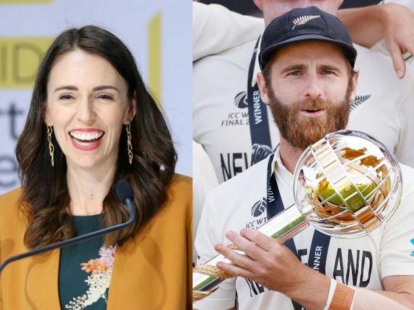 न्यूजीलैंड की प्रधानमंत्री जेसिंड आर्डर्न ने कहा कि टीम कल्चर ने न्यूजीलैंड क्रिकेट को शिखर तक पहुंचा दिया है। हम आगे भी और बेहतर करने की कोशिश करेंगे। - Dainik Bhaskar
