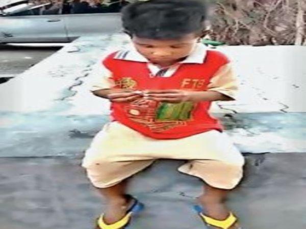 पंजाब में बस स्टैंड पर लावारिस हालत में मिली बोलने में अक्षम बच्ची। - Dainik Bhaskar