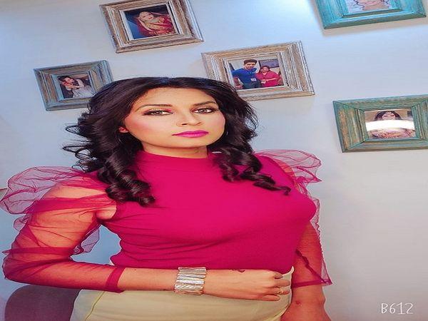 हरियाणवी कलाकार विजेता रानी। - Dainik Bhaskar
