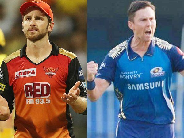 केन विलियम्सन सनराइजर्स हैदराबाद के कप्तान हैं और बोल्ट मुंबई इंडियंस टीम के स्ट्राइक बॉलर हैं। इन दोनों के नहीं रहने से इनकी फ्रेंचाइजी पर काफी असर पड़ेगा। - Dainik Bhaskar