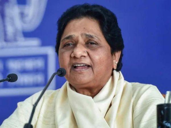 बसपा सुप्रीमो मायावती ने सोशल मीडिया पोस्ट के जरिए यूपी और उत्तराखंड में अकेले दम पर चुनाव लड़ने का ऐलान किया है। - Dainik Bhaskar