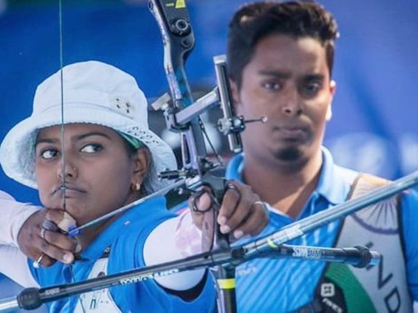 अतनु दास और दीपिका कुमारी ने पहली बार पति-पत्नी के रूप में किसी इवेंट का फाइनल जीता है। - Dainik Bhaskar