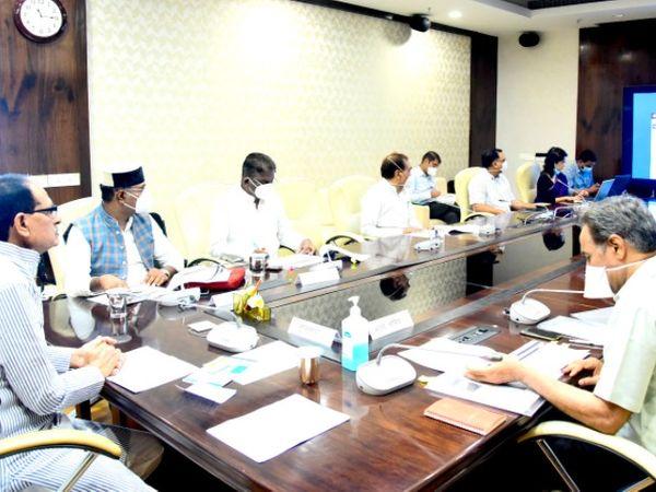मंत्री समूह की बैठक में उच्च शिक्षा का रोड मैप तैयार हुआ। - Dainik Bhaskar