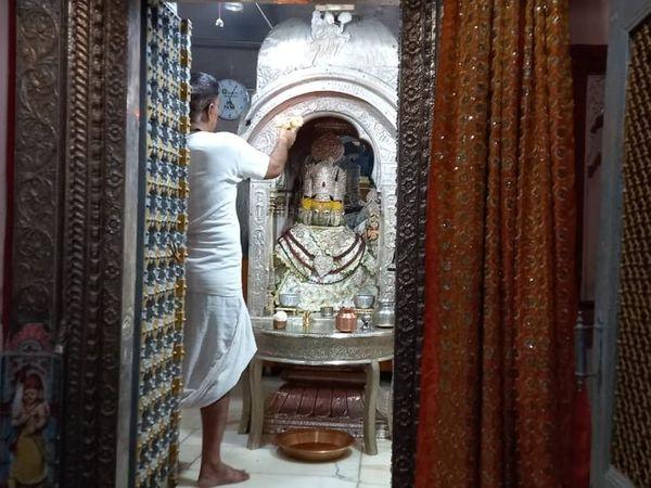पुष्कर ब्रह्मा मंदिर में आरती