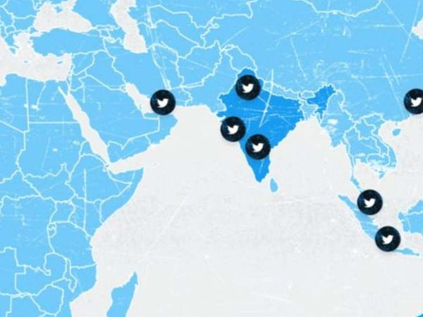 ट्विटर पर जारी देश के गलत नक्शे को सबसे पहले एक यूजर ने नोटिस किया था, इसके बाद यह सोशल मीडिया पर वायरल हुआ। - Dainik Bhaskar