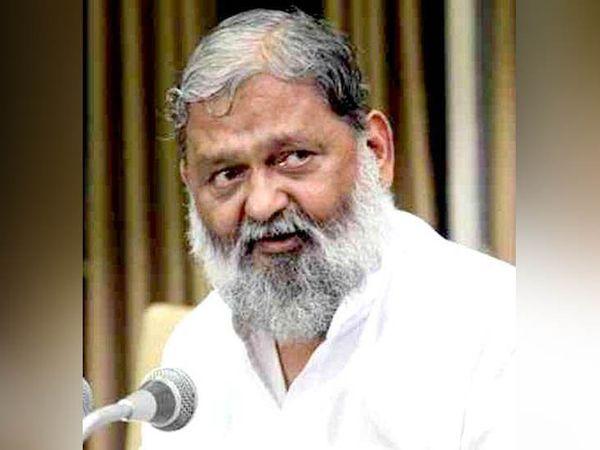 हरियाणा के गृह और स्वास्थ्य मंत्री अनिल विज। -फाइल फोटो - Dainik Bhaskar