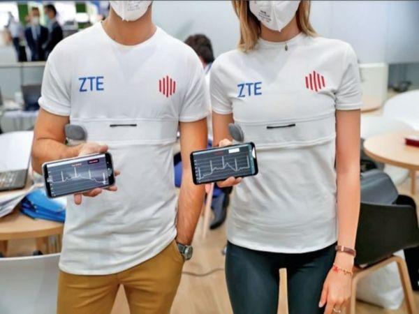 जेडटीई ने इटली के स्टार्टअप के साथ मिलकर 5जी टी शर्ट यूकेयर बनाई है। - Dainik Bhaskar