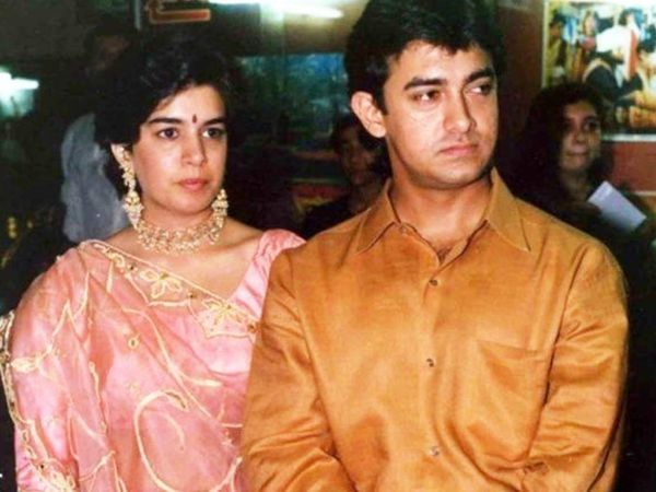रीना दत्ता से आमिर ने पहली शादी की थी जो कि 16 साल टिकी।