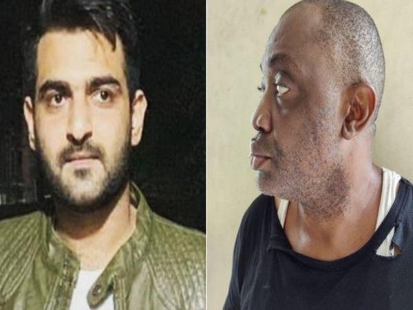 सूफरान लकडावाला (बाएं) कि निशानदेही पर NCB ने एडविन ओकेरेके(दाएं) को अरेस्ट किया है। - Dainik Bhaskar