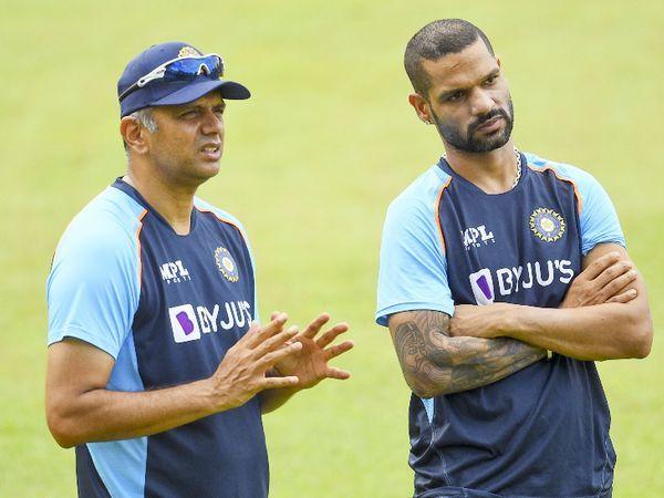 टीम इंडिया के साथ राहुल द्रविड़ बतौर कोच श्रीलंका दौरे पर गए हैं।
