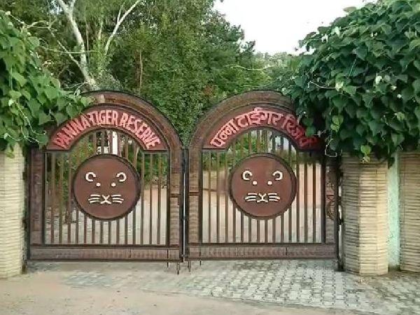 पन्ना टाइगर रिजर्व पार्क।