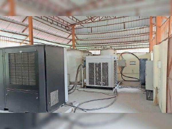 इंस्टॉल किया गया ऑक्सीजन गैस प्लांट। - Money Bhaskar