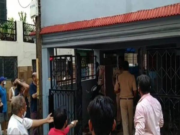 5 दिन पहले हंगामे के बाद पहुंची थी मदनमहल पुलिस।