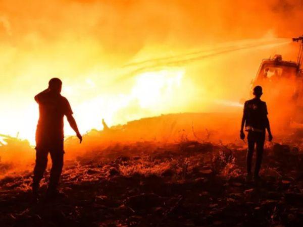 वन मंत्री पेकडेमिरली ने बताया कि जंगलों में हाल के दिनों में आग लगने की छोटी-बड़ी 53 घटनाएं हुई हैं।