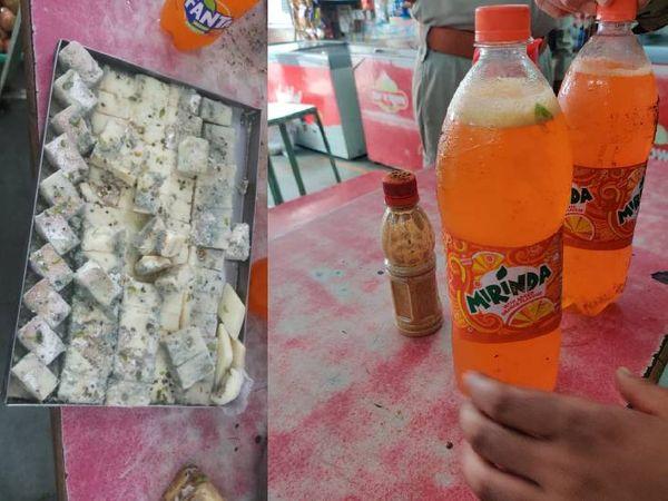 खाद्य विभाग को कुछ इस तरह मिठाईयां और कोल्ड ड्रिंग्स मिली। - Money Bhaskar