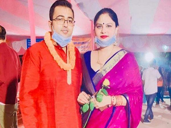 डॉ. राजीव और उनकी पत्नी खुशबू सिंह की फाइल फोटो।