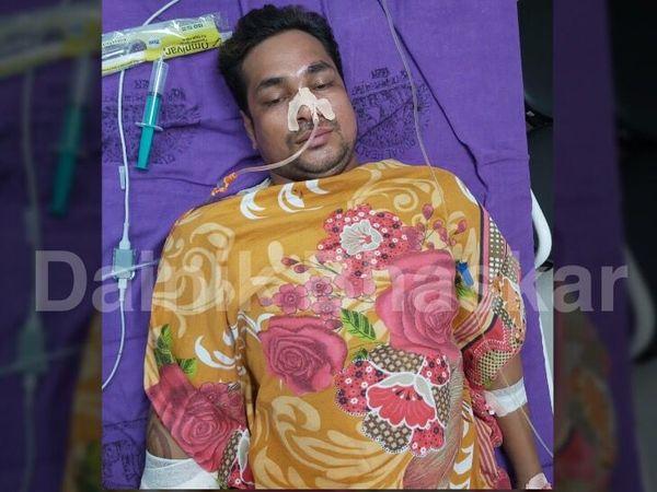 PMCH के ICU में भर्ती विक्रम की हालत अभी भी गंभीर है। - Money Bhaskar