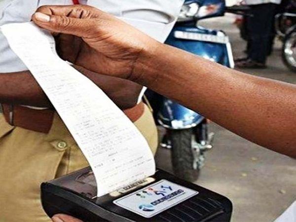 9 माह में 49 हजार 826 वाहन चालकों ने तोड़े नियम। (फाइल फोटो) - Money Bhaskar