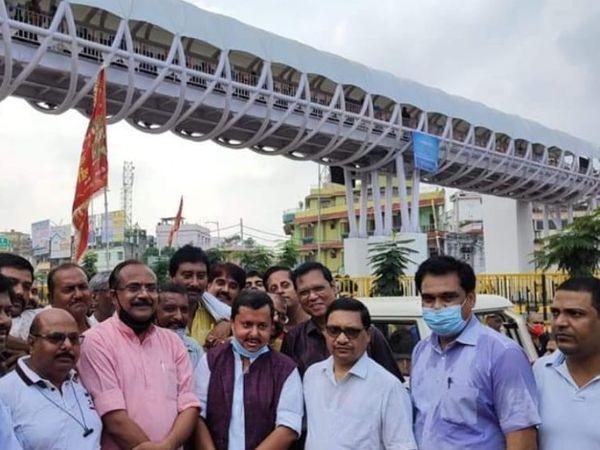 पथ निर्माण मंत्री नितिन नवीन ने किया उद्घाटन। - Money Bhaskar
