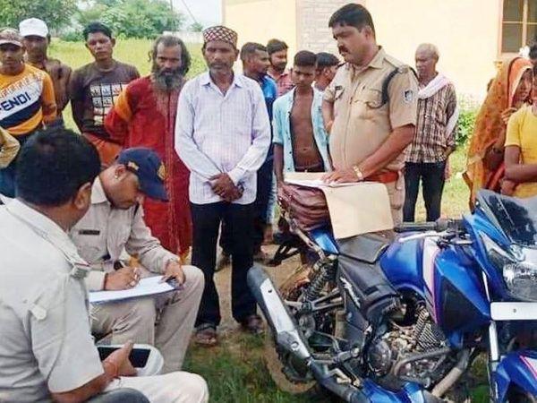 मामले की जांच में जुटी पुलिस - Money Bhaskar