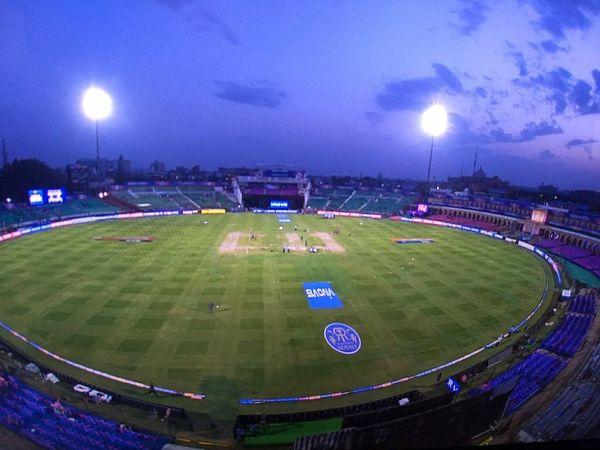जयपुर के सवाई मानसिंह स्टेडियम में पहली बार टी20 इंटरनेशनल मैच होगा। 17 नवंबर को न्यूजीलैंड के खिलाफ भारत यह मैच खेलेगा। - Money Bhaskar