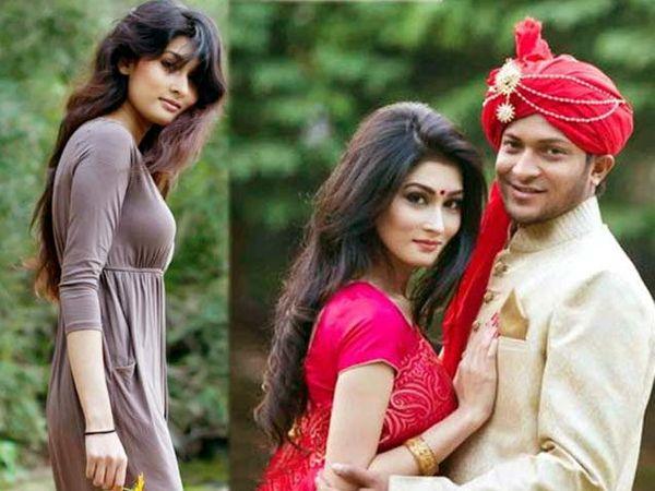 शाकिब अल हसन पत्नी उम्मे अहमदसह. - Divya Marathi